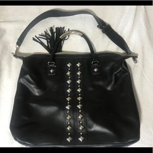 Steve Madden Studded Black Bag